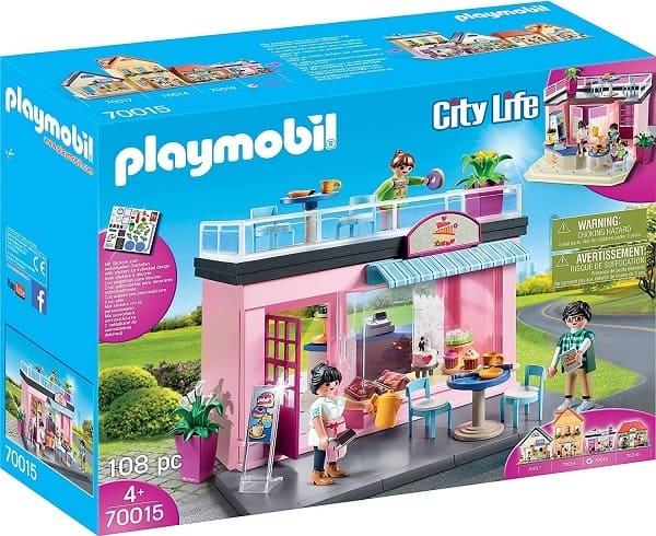 摩比城市生活系列-咖啡店(70015)