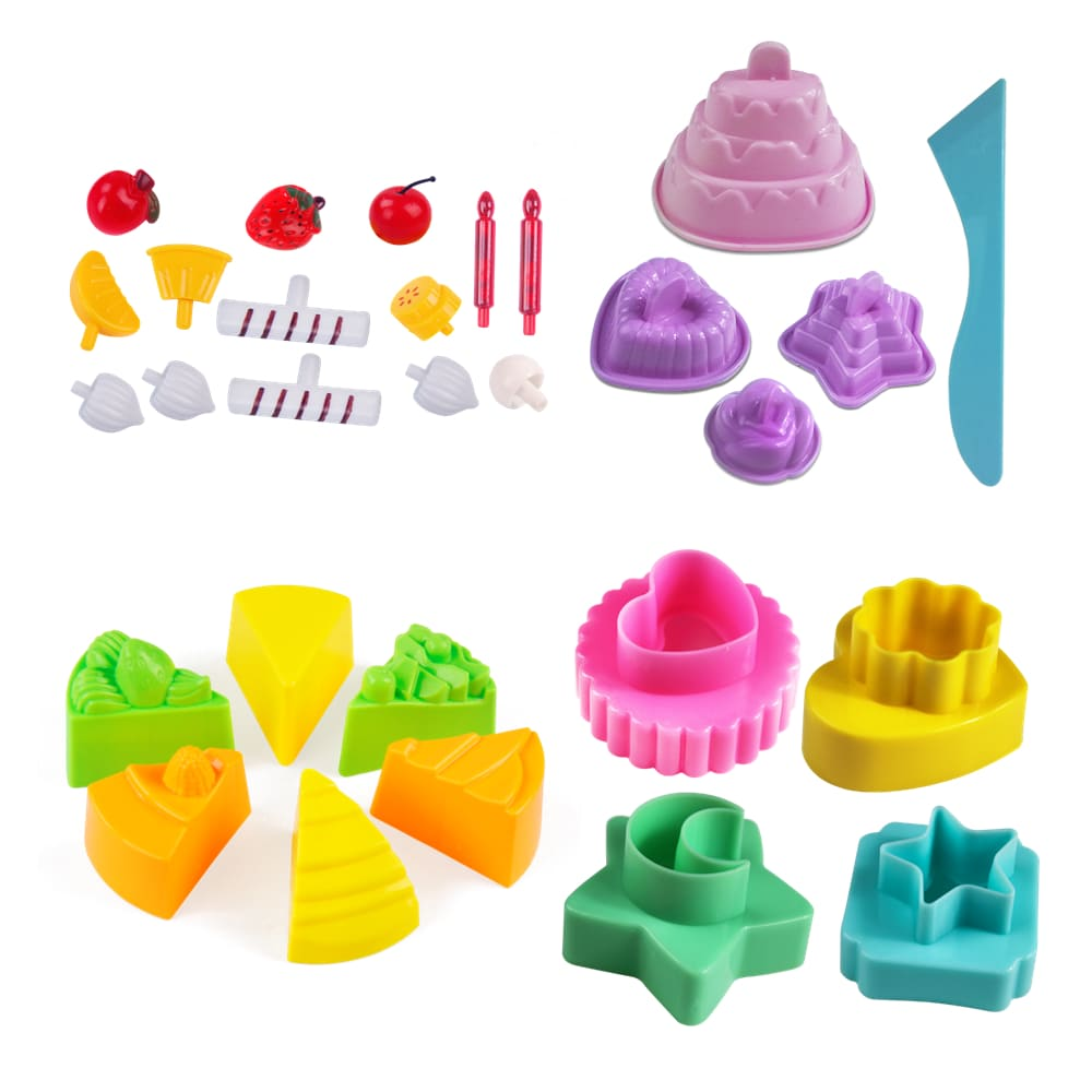 TUMBLING SAND – 玩沙模具蛋糕主題30件組