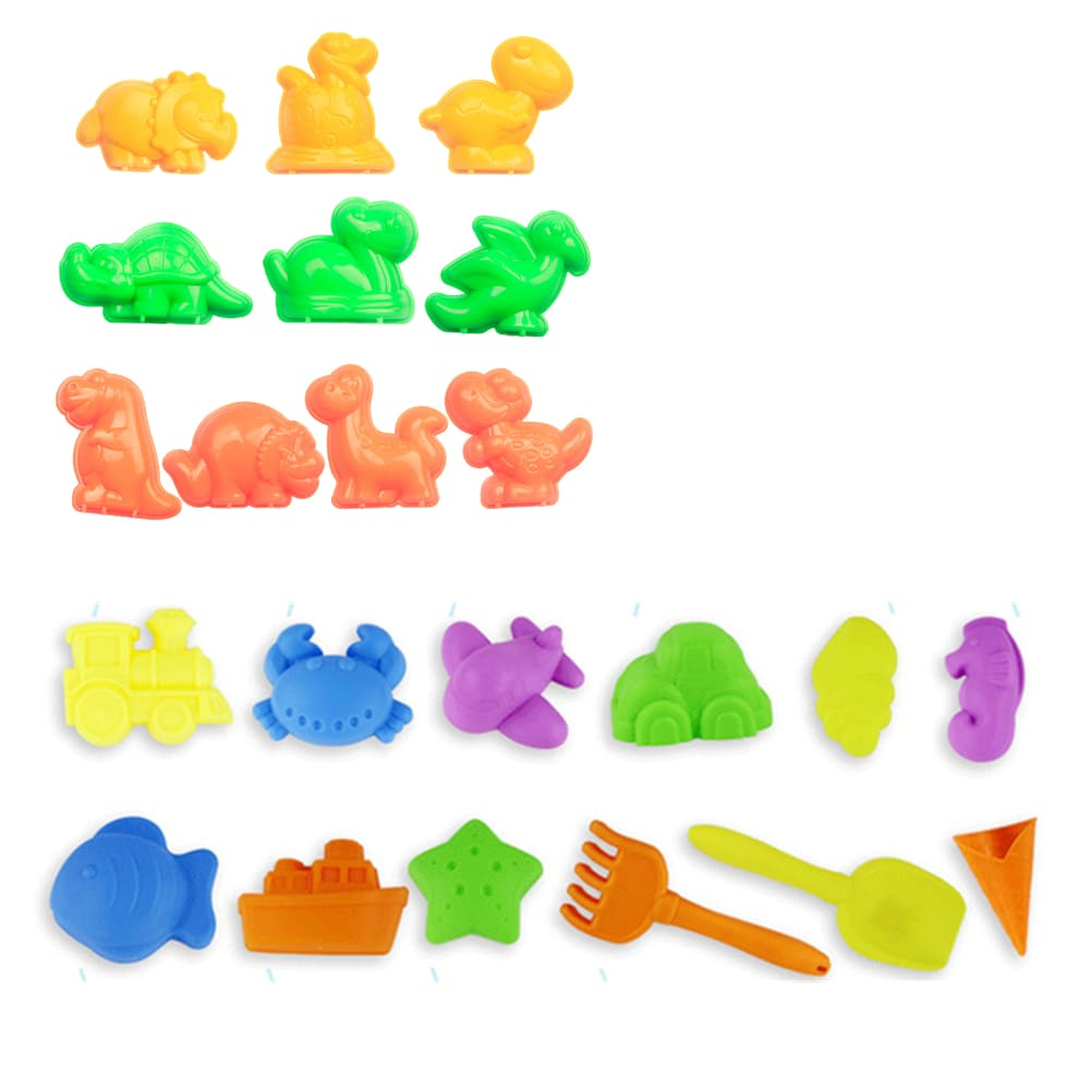 TUMBLING SAND – 玩沙模具動物主題