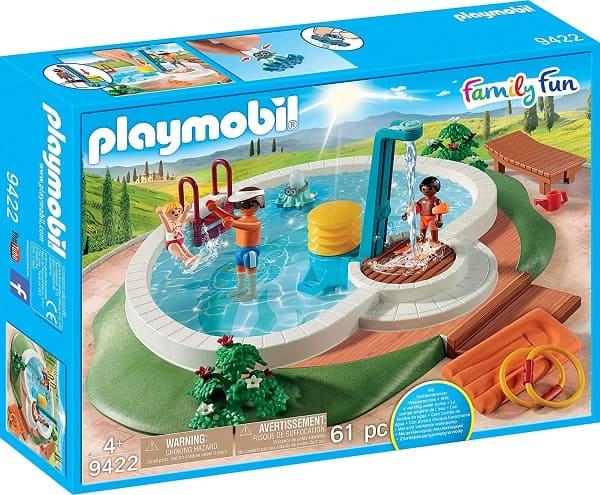 摩比家庭趣味系列-游泳池(9422)