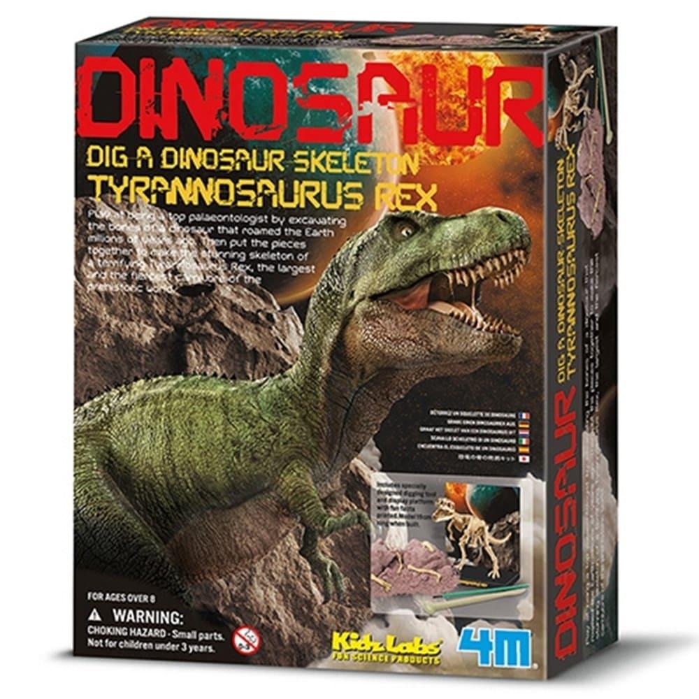 考古挖掘玩具-恐龍骨模型