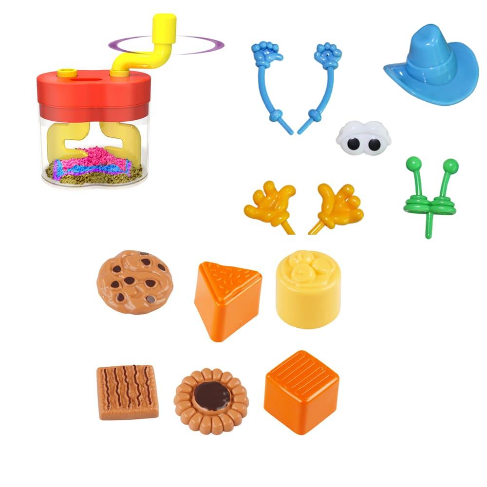 TUMBLING SAND – 玩沙模具創意造型
