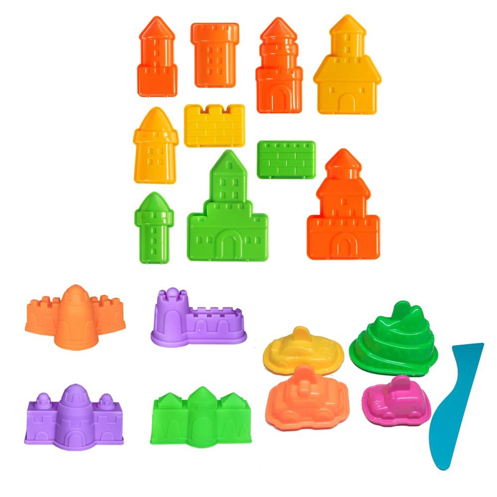 TUMBLING SAND – 玩沙模具城堡主題