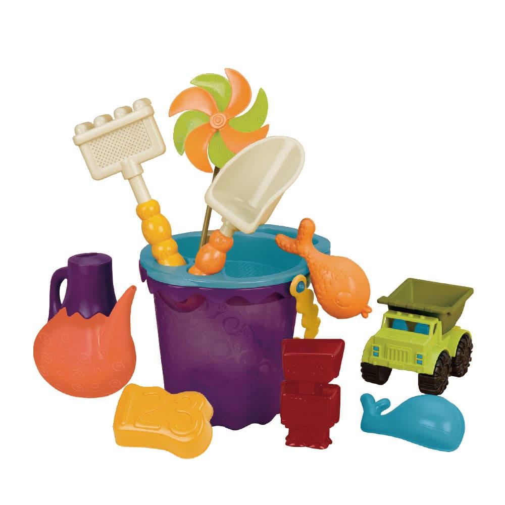 B.Toys 光腳丫沙灘工具組