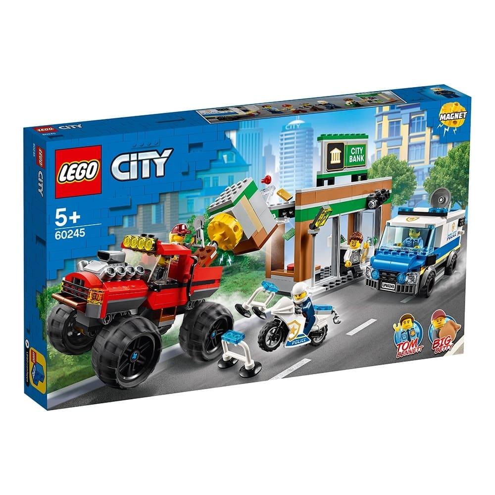 樂高城市系列 – 警察巨輪卡車搶案 (60245)