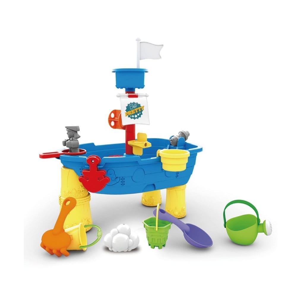 戲水玩沙-海盜船玩具組