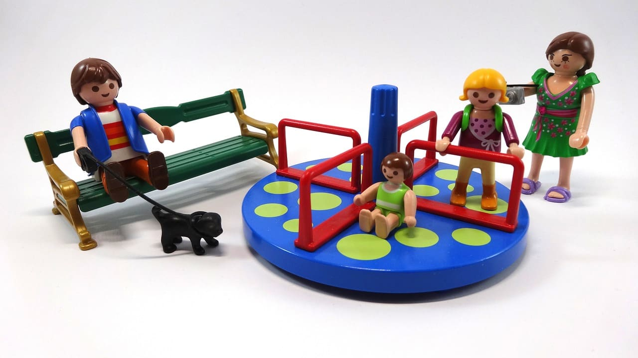 Playmobil 摩比人場景