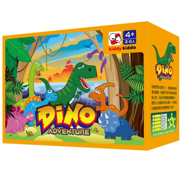 兒童親子桌遊推薦-恐龍歷險記