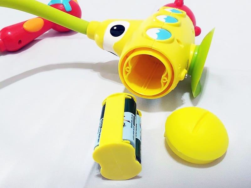 洗澡玩具電池