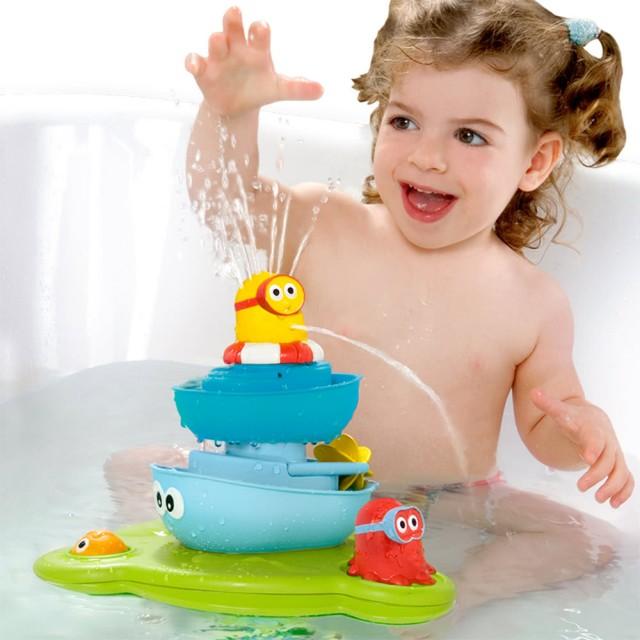 海洋公園疊疊樂噴泉 – 戲水/洗澡玩具