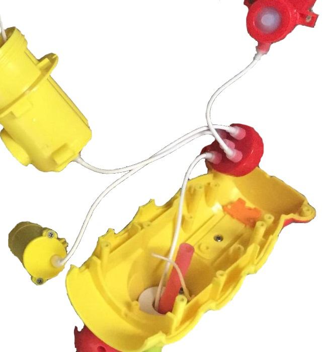 Yookidoo洗澡玩具防水絕緣設計