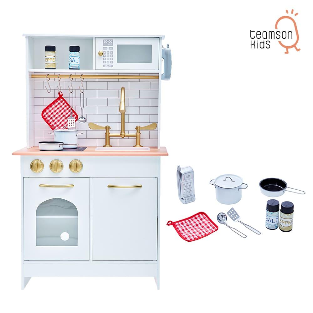 大型木製廚房玩具組
