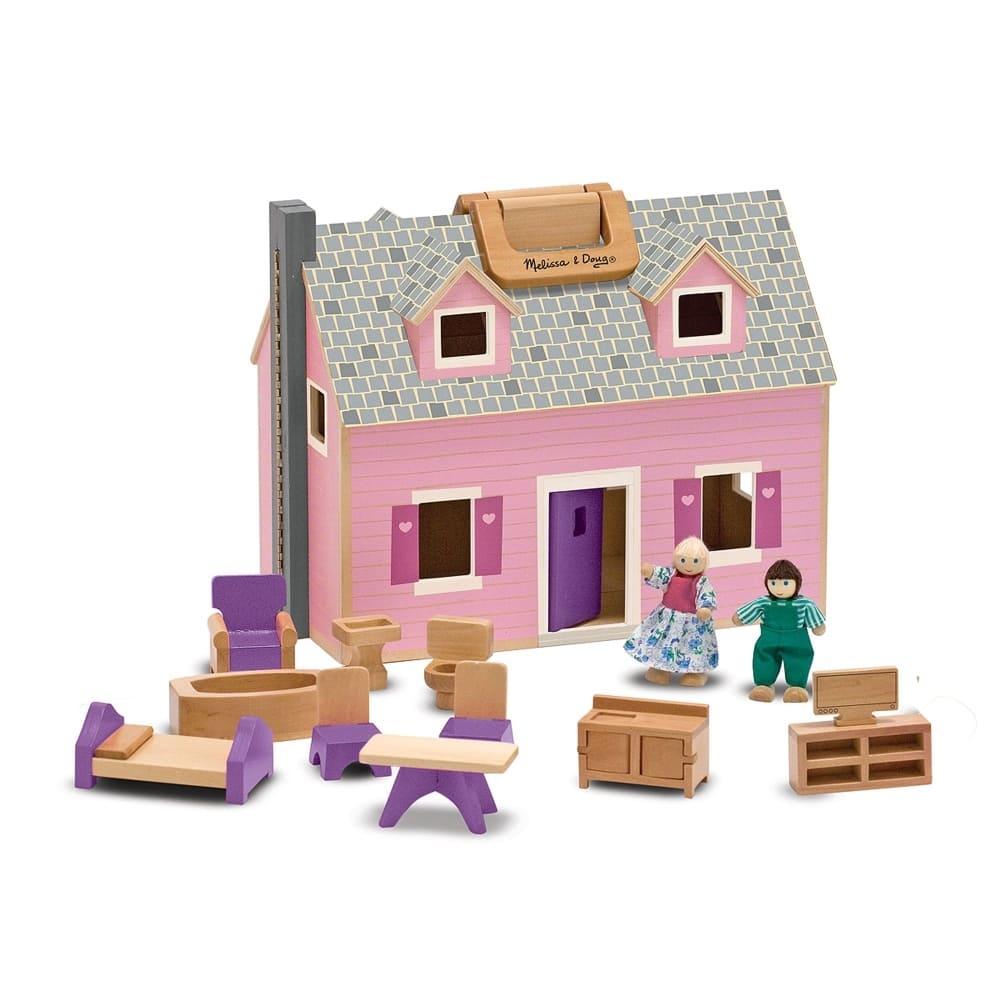 木製小型娃娃屋