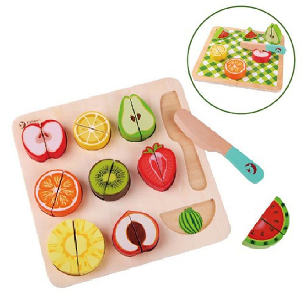 水果切切樂木製玩具