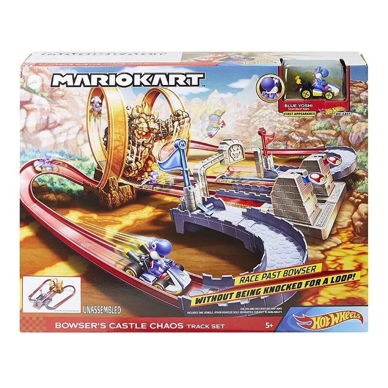 風火輪Mario Kart庫巴城堡系列軌道組