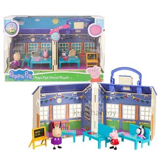 粉紅豬小妹 – 豪華教室提盒組