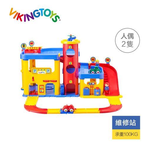Viking toys 城市三層停車場