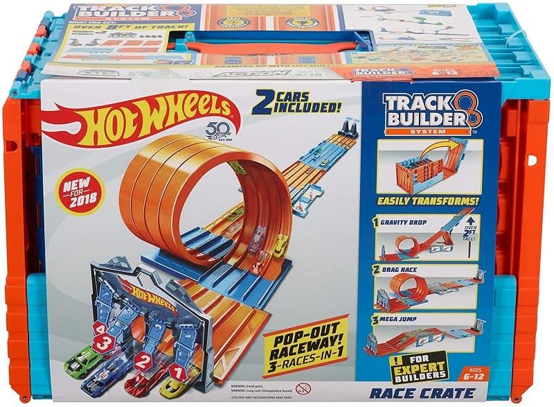 風火輪Hot Wheels-創建軌道賽車箱