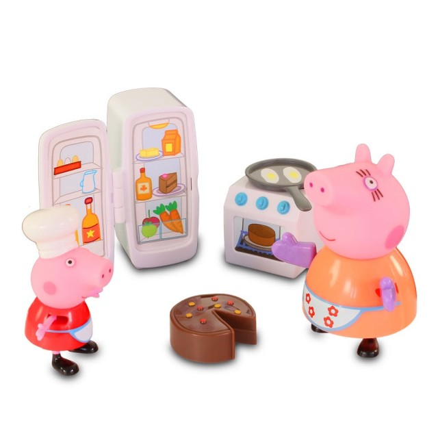 佩佩豬廚房玩具組