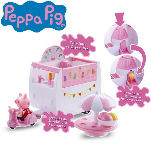 粉紅豬小妹-冰淇淋餐車組
