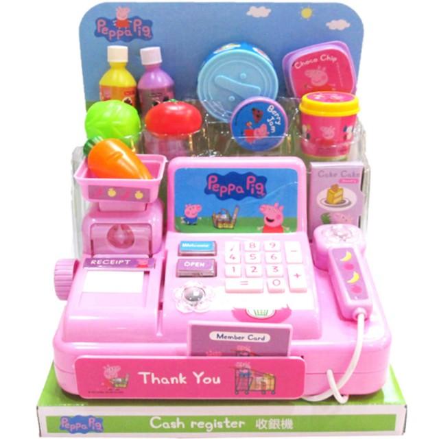 佩佩豬聲光收銀機玩具