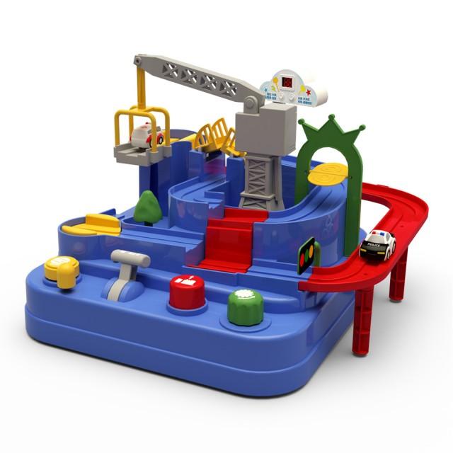 汽車闖關大冒險益智玩具