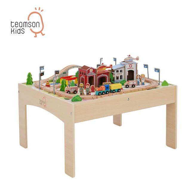 木製小火車軌道遊戲桌組