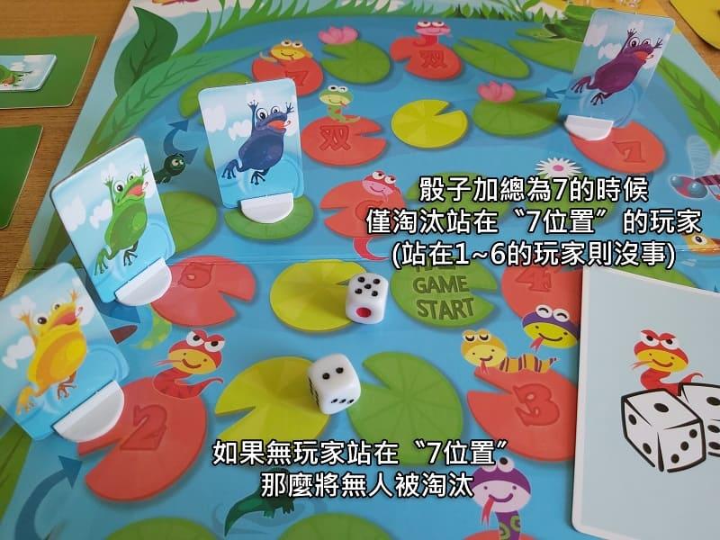 Snakes & lilies 兒童桌遊規則說明