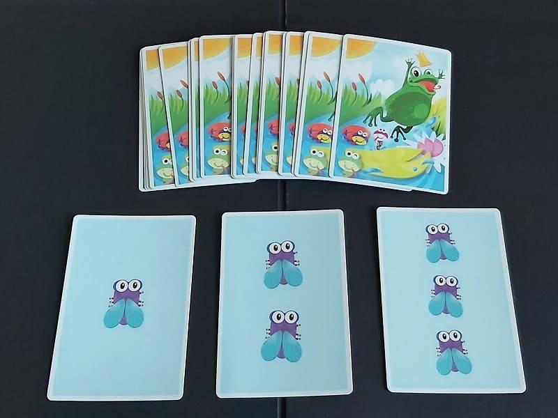 青蛙桌遊蟲卡