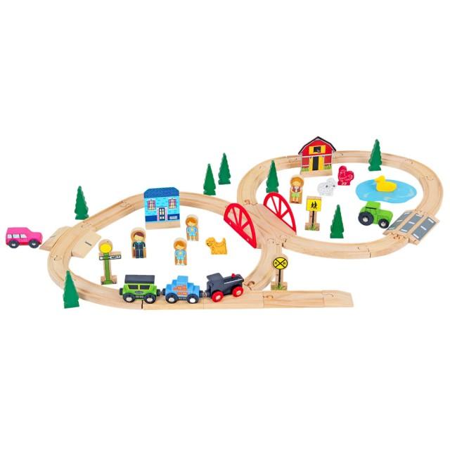木製軌道火車玩具推薦