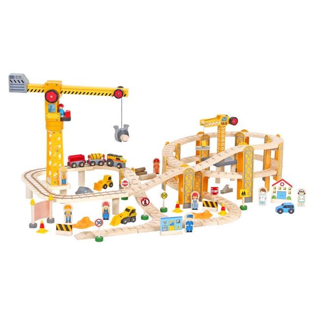 場景火車軌道玩具