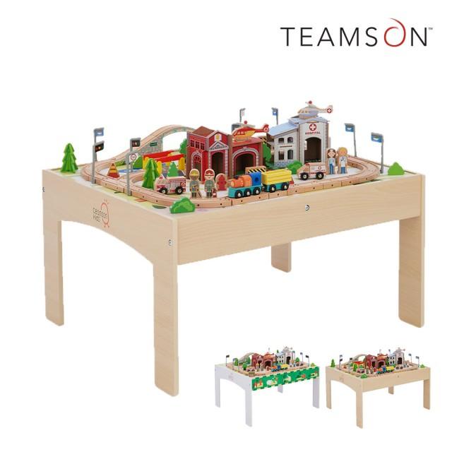 木製小火車軌道遊戲桌