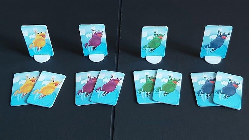 青蛙桌遊角色卡
