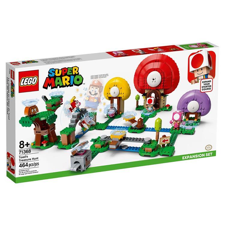 【LEGO 樂高】奇諾比奧的尋寶之旅 (#71368)