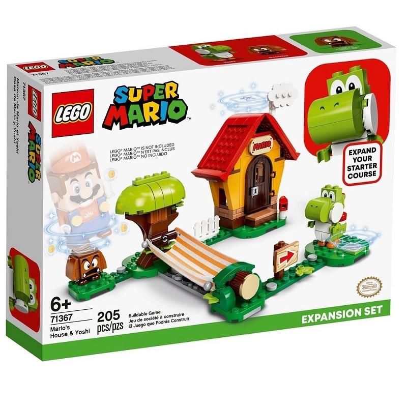 【LEGO 樂高】瑪利歐之家與耀西 (#71367)