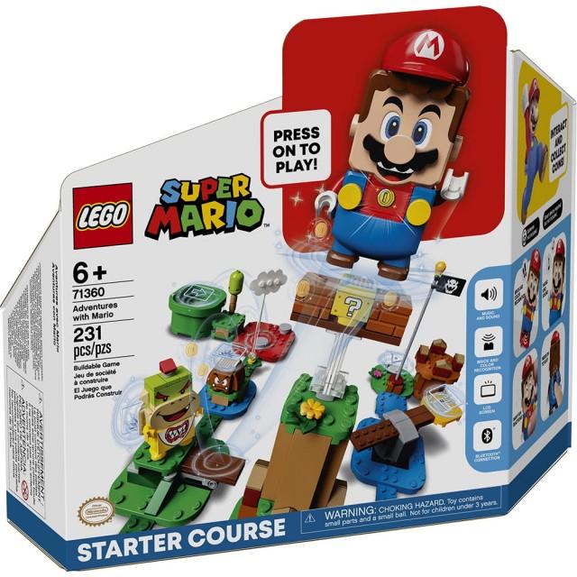LEGO 樂高-瑪利歐冒險主機 (#71360)