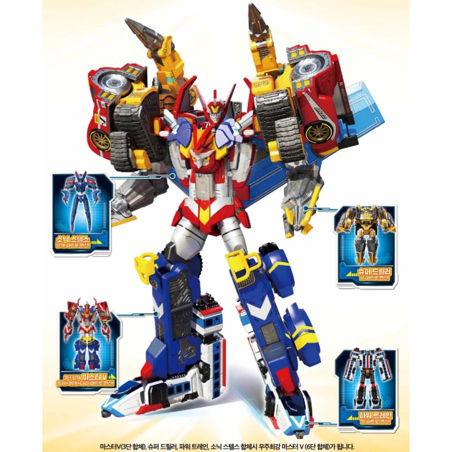 超大型合體機器人玩具
