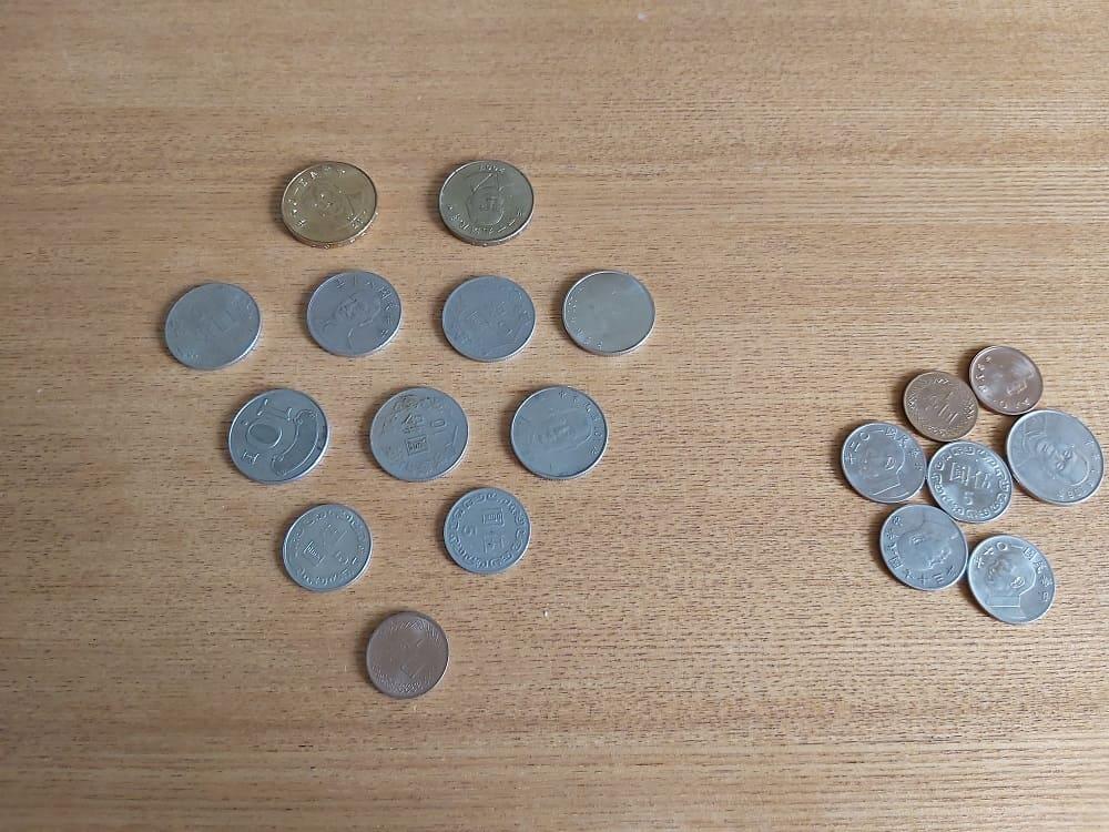 硬幣記憶遊戲