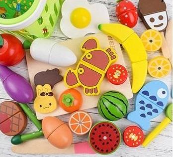 木製切切樂玩具