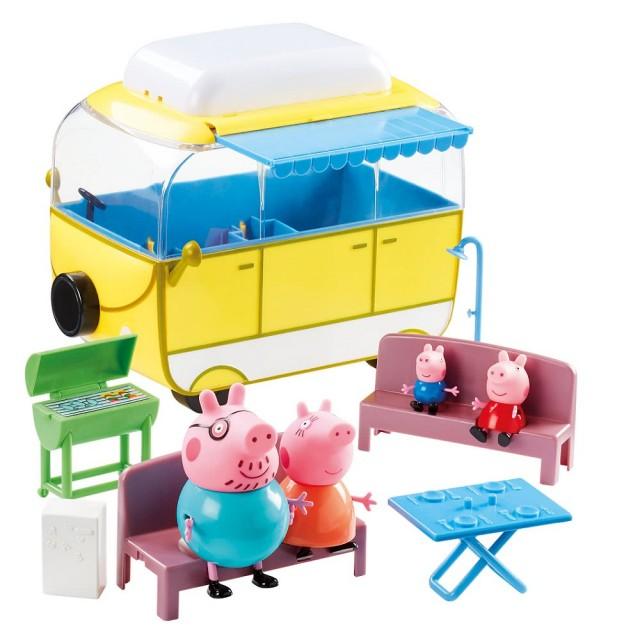 粉紅豬小妹-超大露營車