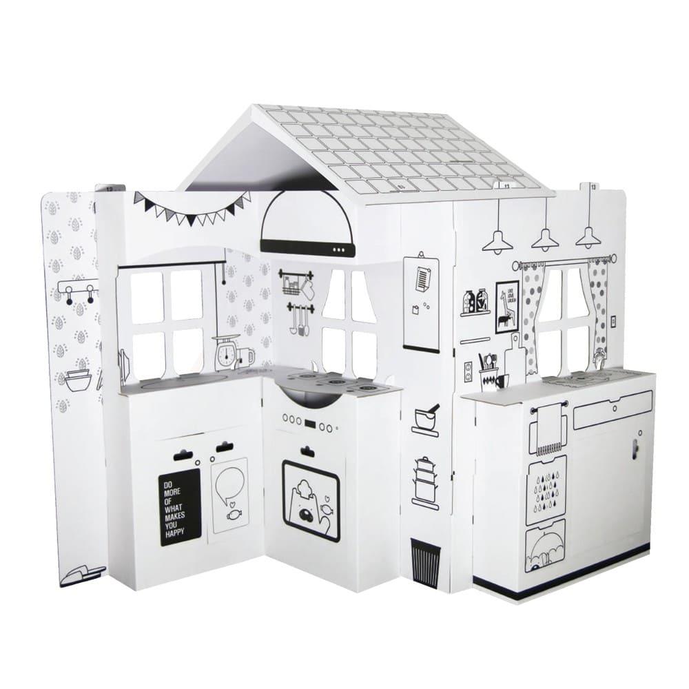 趣玩紙屋廚房玩具