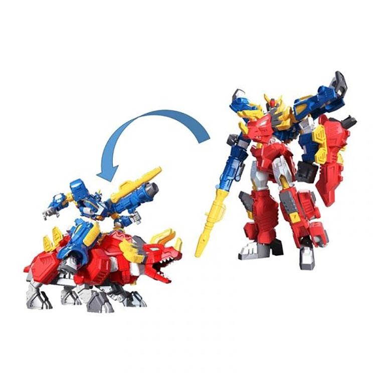 迷你特工隊合體機器人玩具