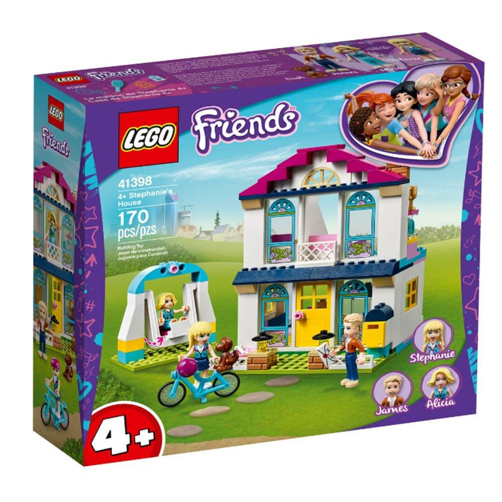 樂高Friends系列-斯蒂芬妮的家 #41398 (4歲半)