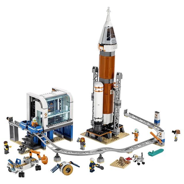 7歲樂高積木推薦-重型火箭及發射控制 #60228