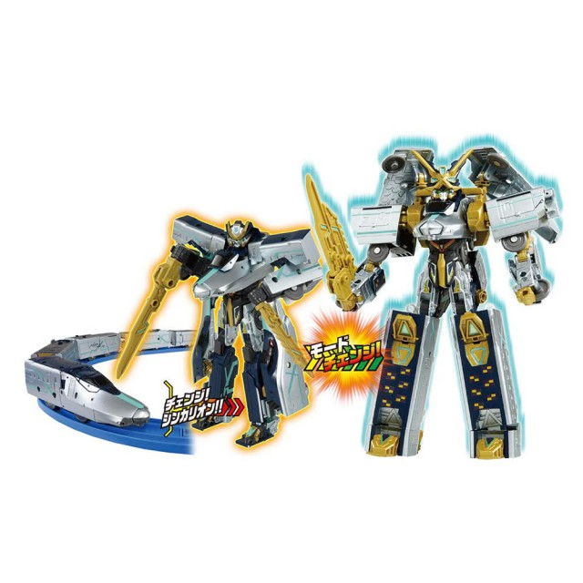 新幹線變形機器人-阿爾法