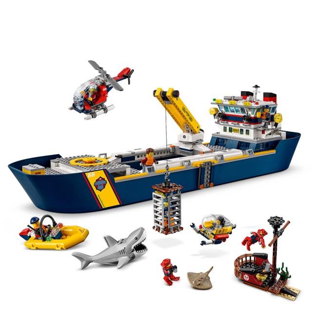 樂高城市系列 海洋探索船 #60266