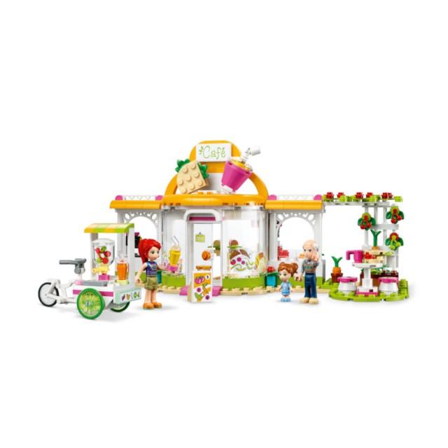 【LEGO 樂高】Friends系列-心湖城有機咖啡廳 #41444 (6歲)