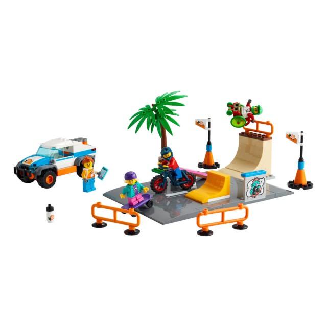 LEGO 樂高城市系列-滑板公園 #60290 (5歲)