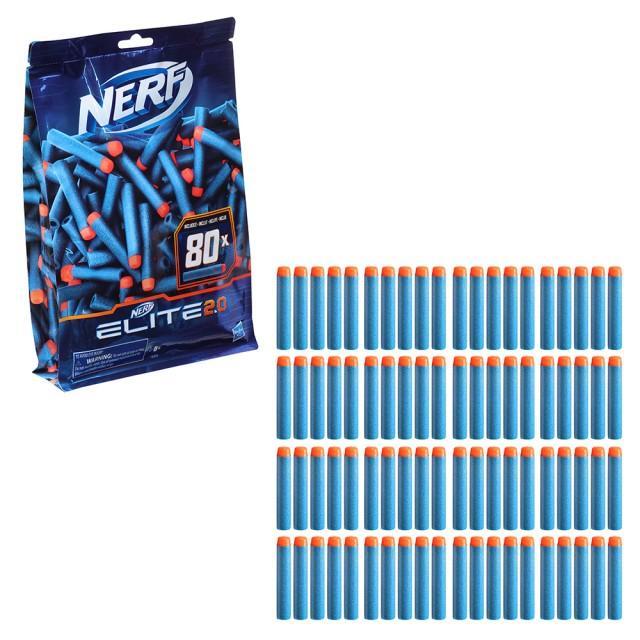 NERF菁英系列(彈鏢補充包 80發)